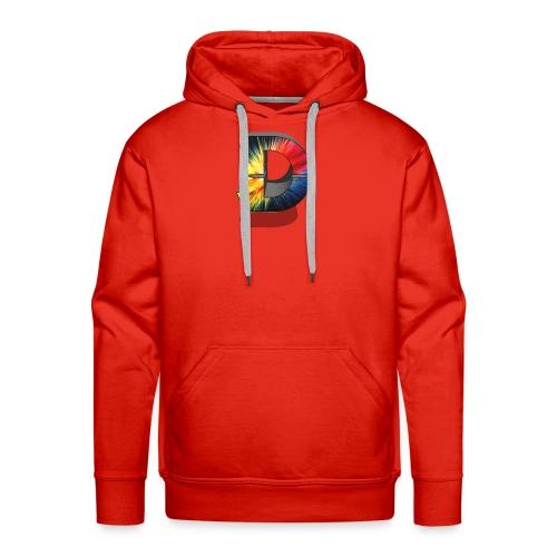 D Logo Colorful - Men's Premium Hoodie