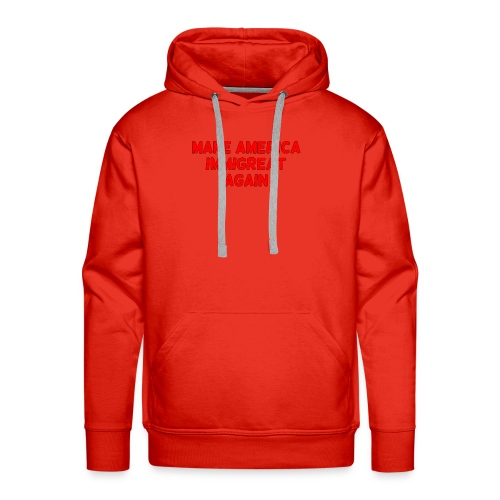 ImmiGREAT - Red - Men's Premium Hoodie