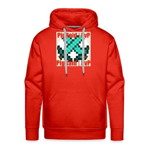 PigRaid Custom Logo - Men's Premium Hoodie