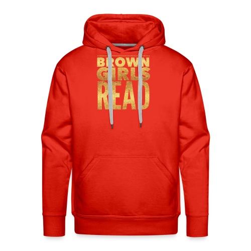 Brown Girls Read - Men's Premium Hoodie