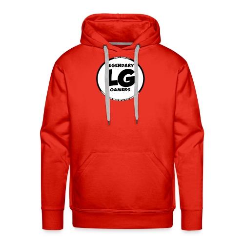 legendarygamers logo - Men's Premium Hoodie