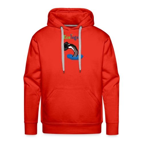 Pixel Sea Lamprey - Men's Premium Hoodie