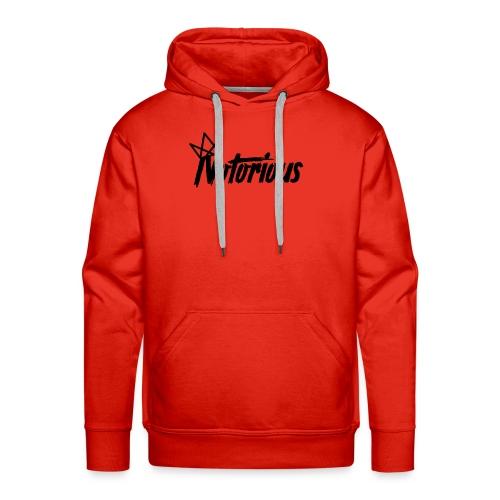 Notorious Logo Hoodie - Men's Premium Hoodie