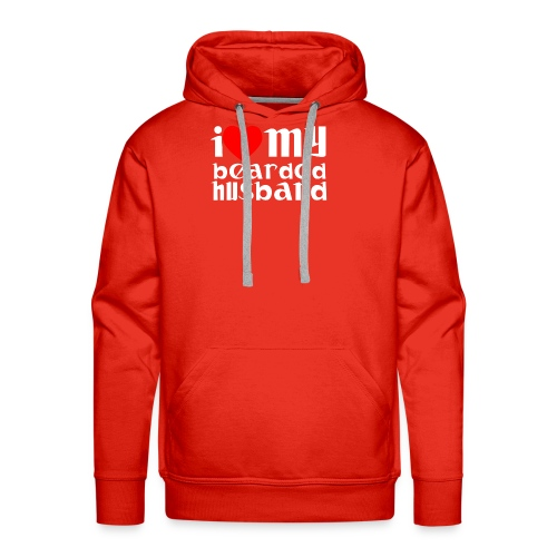 beard husband - Men's Premium Hoodie