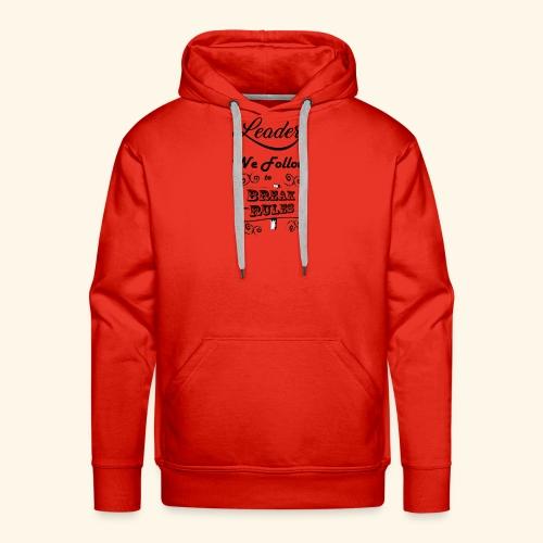 Leader We Follow Designs - Men's Premium Hoodie