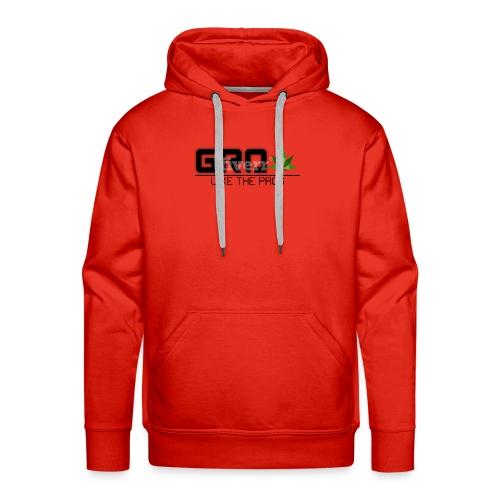 GrowLikeTheProsLogo - Men's Premium Hoodie
