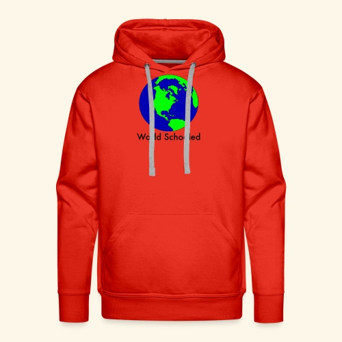 World Schooled - Men's Premium Hoodie
