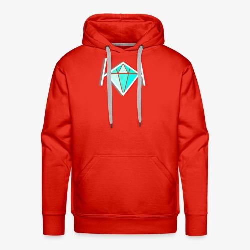 3D KK Diamond Logo - Men's Premium Hoodie