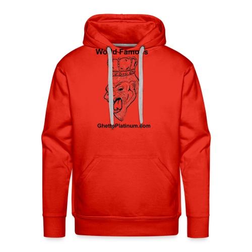 T-shirt-worldfamousForilla2tight - Men's Premium Hoodie