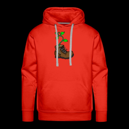 Plant In Boot - Men's Premium Hoodie