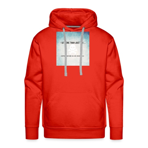 I do more than try - Men's Premium Hoodie