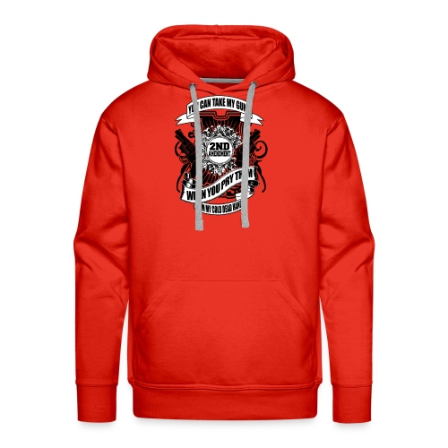 2nd Amendment Gun Rights - Men's Premium Hoodie