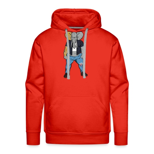Dumbo Fell in the Wrong Crowd - Men's Premium Hoodie