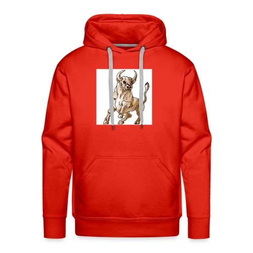 bull icon - Men's Premium Hoodie