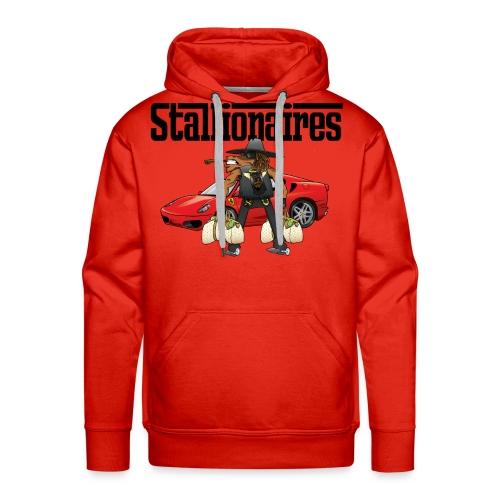 STALLIONAIRES TEE 01 - Men's Premium Hoodie