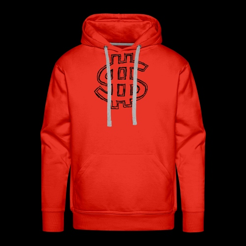 dollar sign drawing 4 - Men's Premium Hoodie