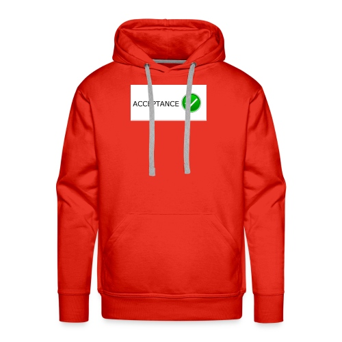 accpetnace_logo - Men's Premium Hoodie