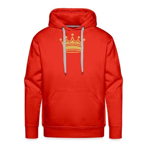 86345757b9d3fa46a0c517bc413fc34e crown clip art tr - Men's Premium Hoodie