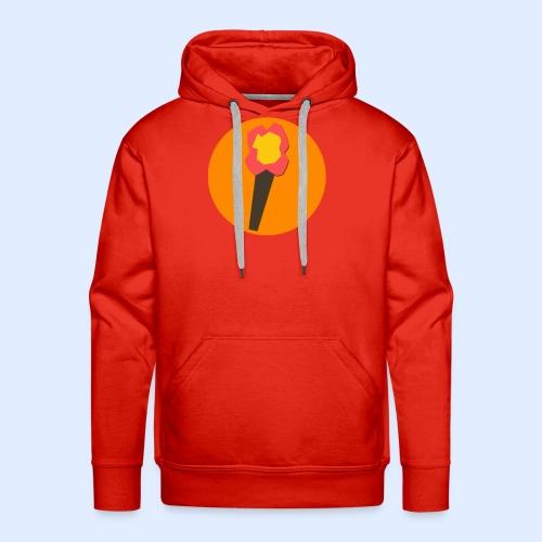 NeoMc Redstone Torch Design - Men's Premium Hoodie