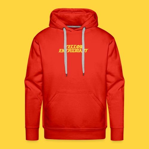 yellow enthusiast - Men's Premium Hoodie