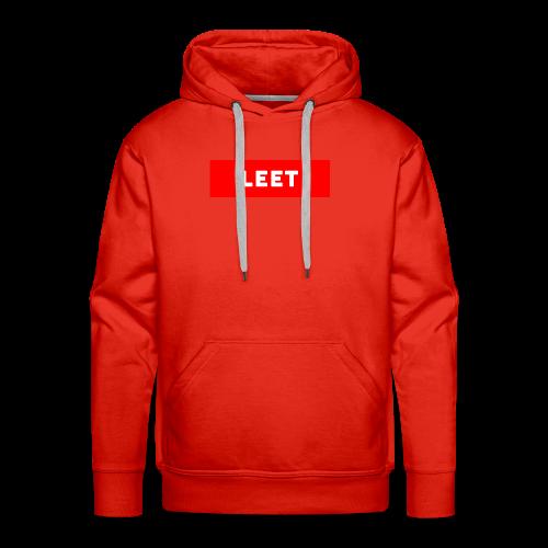 LIMITED EDITION LEET MERCH - Men's Premium Hoodie