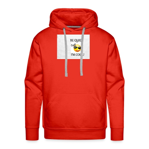 small be quiet - Men's Premium Hoodie