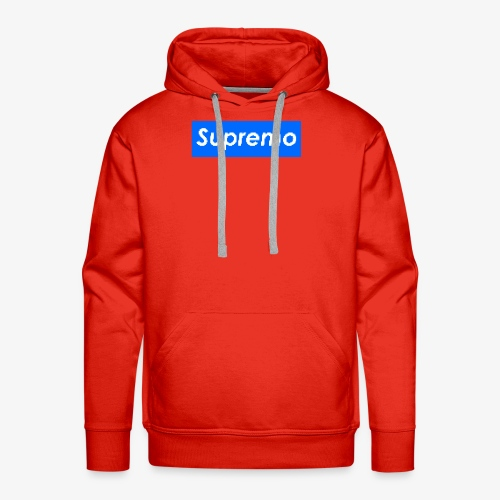 Supremo Blue - Men's Premium Hoodie