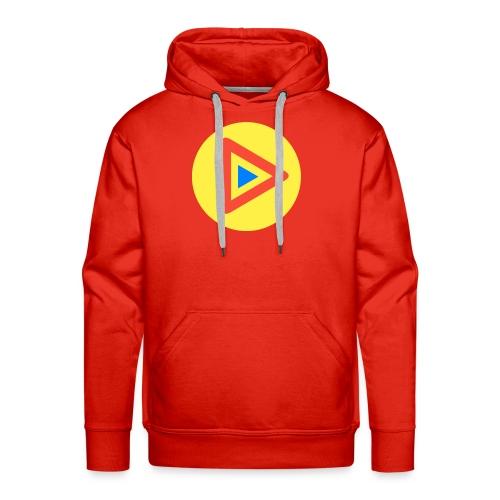Most Played Play Logo - Men's Premium Hoodie