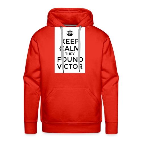 Found Victor - T-Shirt - Men's Premium Hoodie