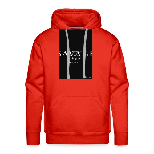 Subscribe to savage mide - Men's Premium Hoodie