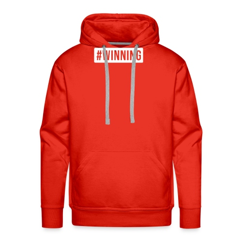 #WINNING - Men's Premium Hoodie