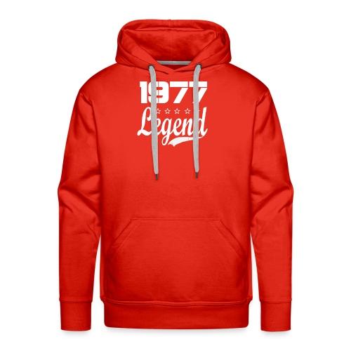 77 Legend - Men's Premium Hoodie