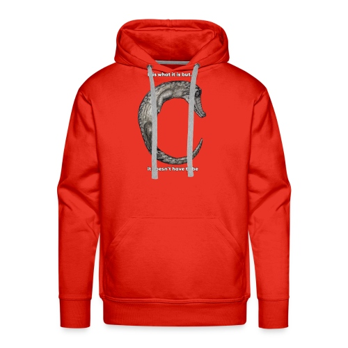 croc with text - Men's Premium Hoodie