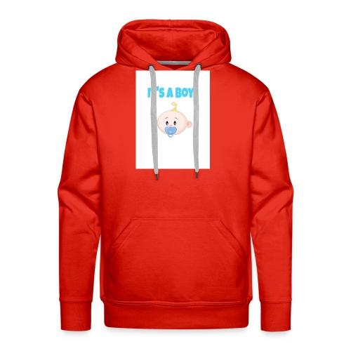 It-s_a_boy_tshirt - Men's Premium Hoodie