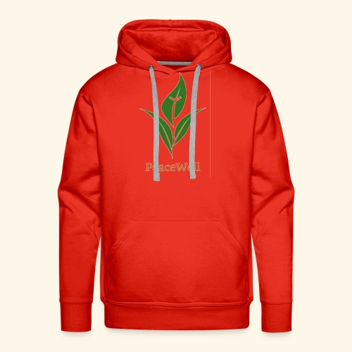 PeaceWell - Support your vendor! - Men's Premium Hoodie