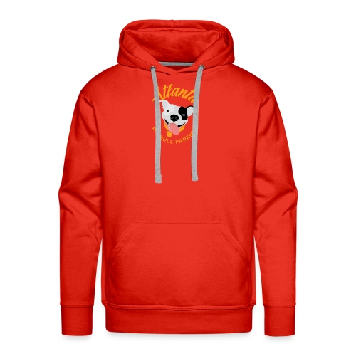Atlanta Pit Bull Parents logo - Men's Premium Hoodie