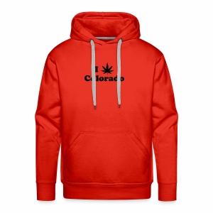 colorado weed - Men's Premium Hoodie