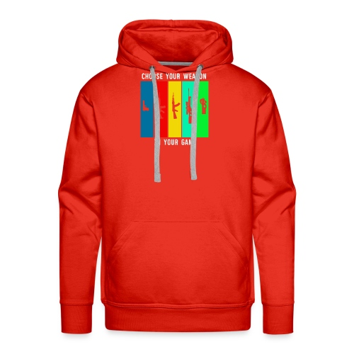 Choose Your Weapon in your Game - Men's Premium Hoodie