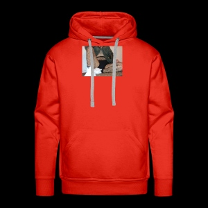 self modeled - Men's Premium Hoodie