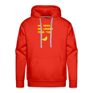 No fear the Banana - Men's Premium Hoodie