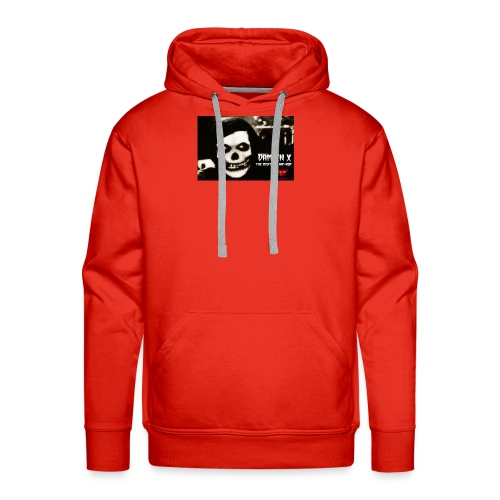 Crimson Ghost Logo - Men's Premium Hoodie