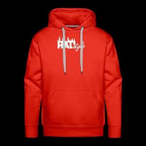 HALIStyle City Skyline - Men's Premium Hoodie