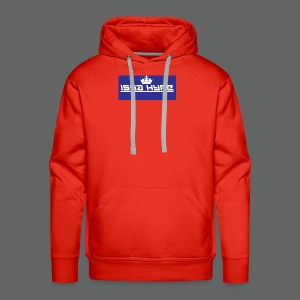 issahype_blue - Men's Premium Hoodie