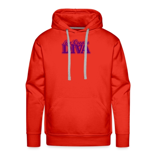 Ice Cream Diva 2 light shirts - Men's Premium Hoodie
