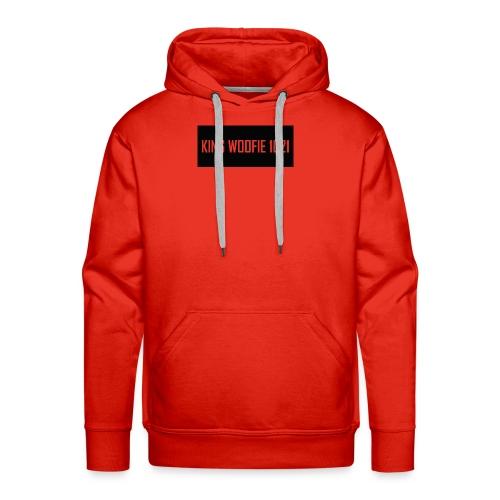 Woofie Logo - Men's Premium Hoodie