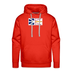 1200px Flag of Newfoundland and Labrador svg - Men's Premium Hoodie