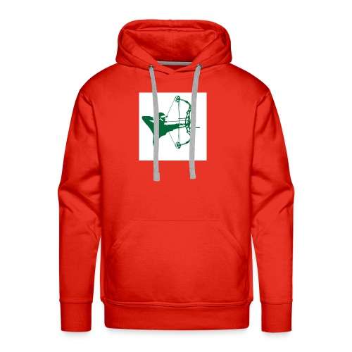 man with bow - Men's Premium Hoodie