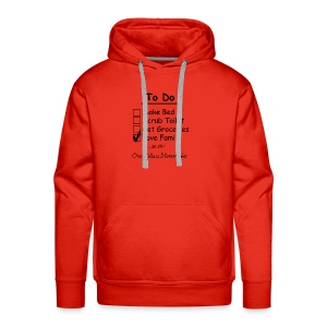 To Do List - One Helluva Homemaker - Men's Premium Hoodie
