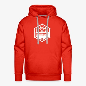 Warning: Biohazard - Men's Premium Hoodie