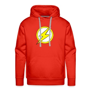 Kid Flash Logo - Second Channel - Men's Premium Hoodie